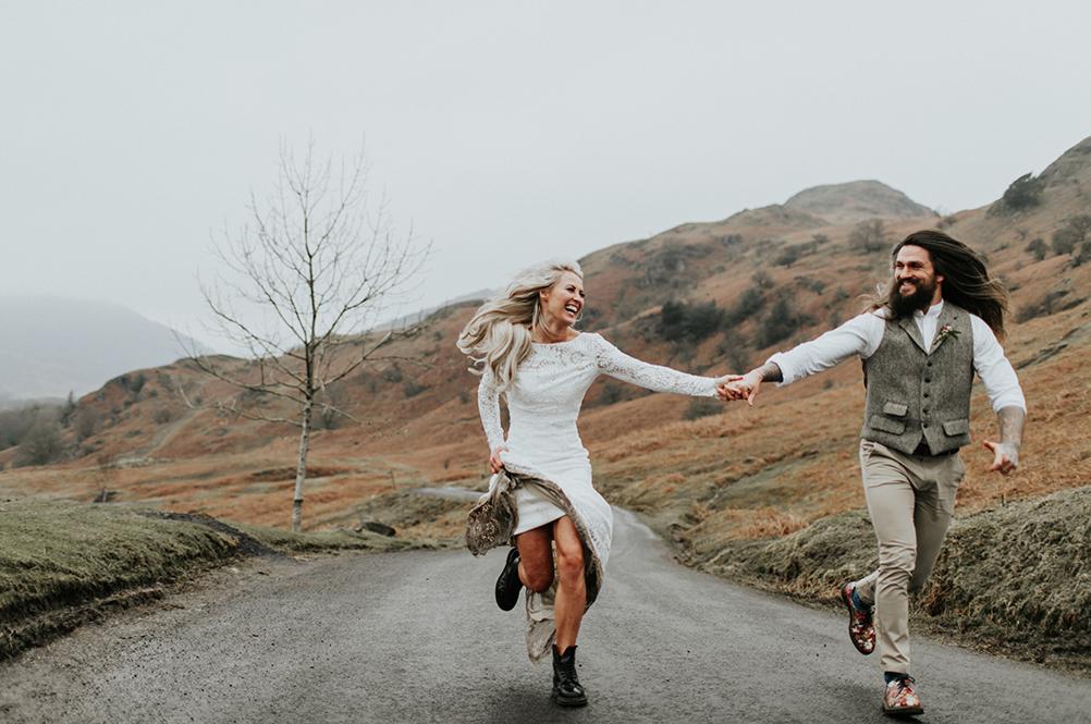 modern wedding style
